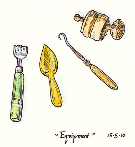 Illustration Friday: Equipment