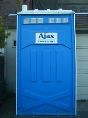The Ajax Port-o-potty