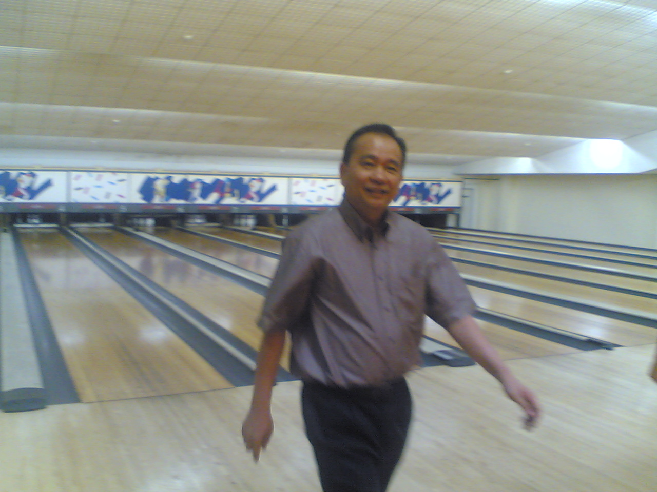 Uncle Danny after one of his strikes