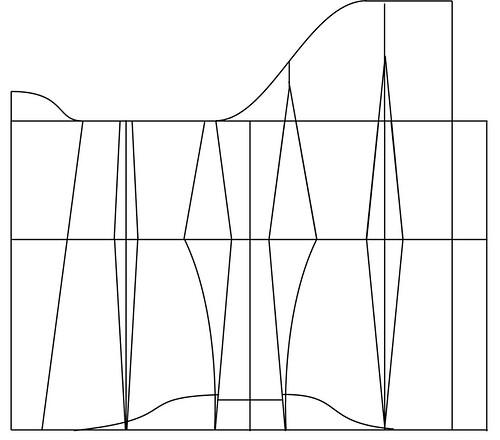 Underbust corset pattern - 32
