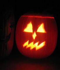 pie pumpkin, carved