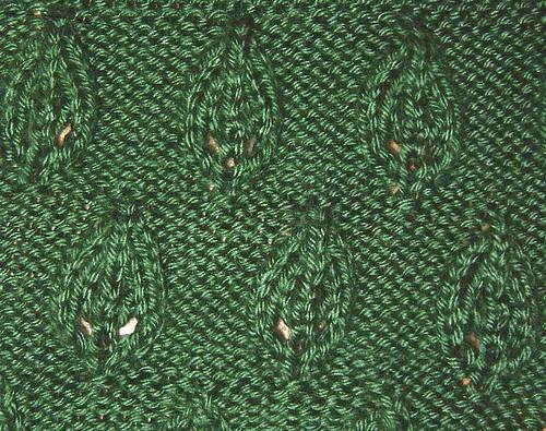 Embossed Leaf Pattern