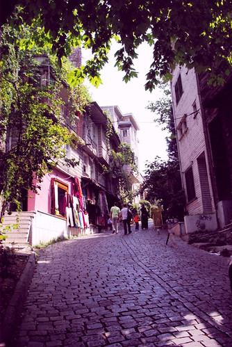 Sogukcesme street, Soğukçeşme sokağı, Sultanahmet Istanbul, pentax k10d