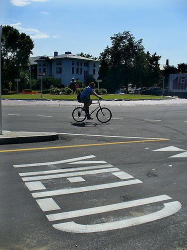 Biking the new rotary