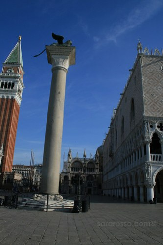 Winged Lion of St. Mark's Square