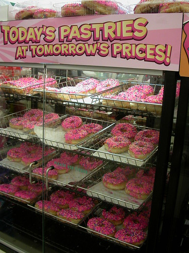 It's those donuts