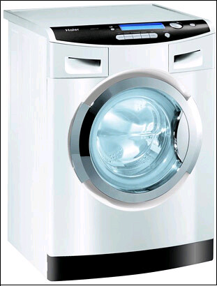 Haier's WasH2O detergentless washing machine