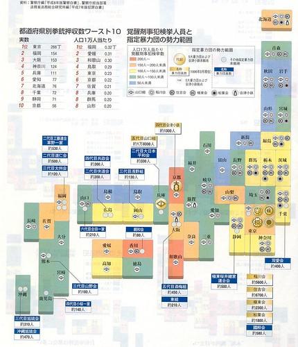 Yakuza map