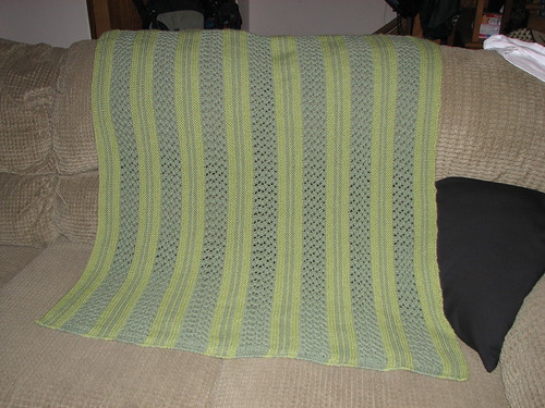 The finished blanket