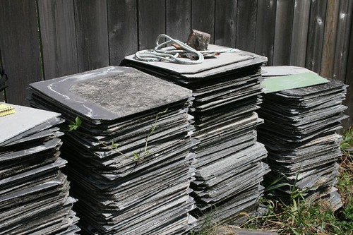 Architectural Salvage New Orleans | Asbestos Shingles New Orleans Architectural Salvage