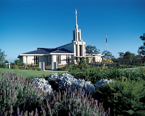 Mormon Temple Sydney Australia