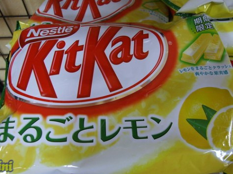 kitkat lemon chocolate