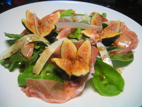 prosciutto, fig & parmesan salad