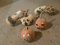 Scaredy Pumpkins