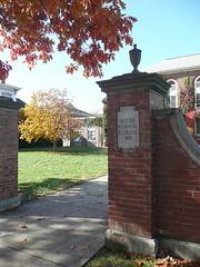 Parker Hall gate