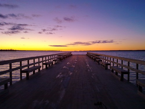 Dynamic Sunset dock
