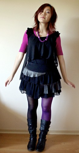 Back in Black (and pink and purple)