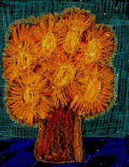 Midnight Sunflowers
