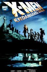 X-Men Endangered Species Cover