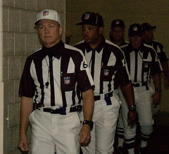 Referees in the Tunnel