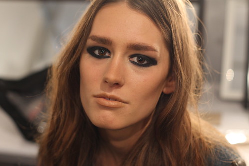 MARA HOFFMAN FALL 2011 BACKSTAGE (2)