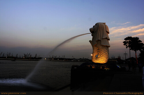 Merlion, Raffles place, Singapore