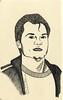 Portrait of Martin dibujandoarte