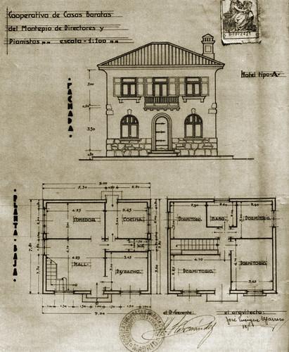 Plano Colonia Albéniz