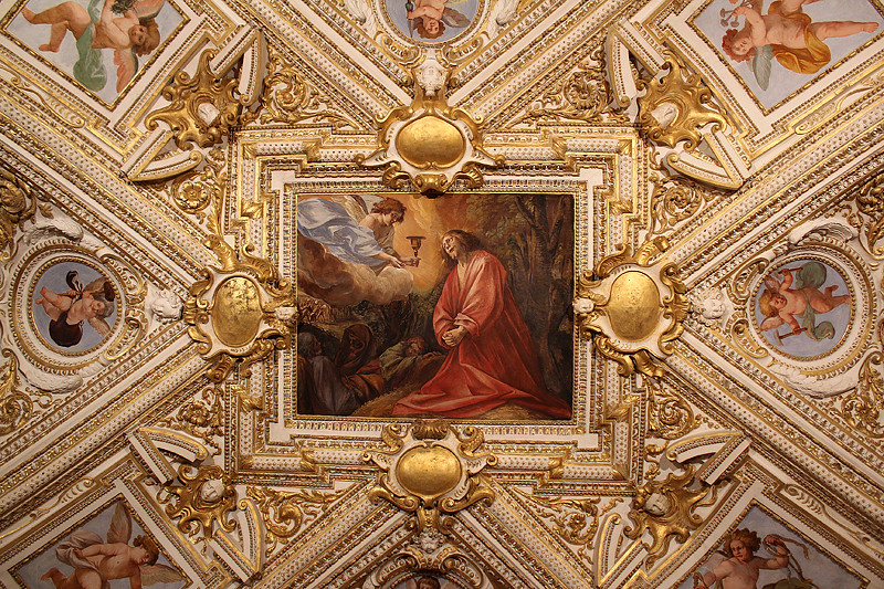 Ceiling decoration - the Vatican Museum