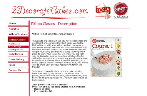 Cake deco classes, here I come!
