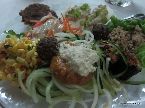 raw food - my dinner plate