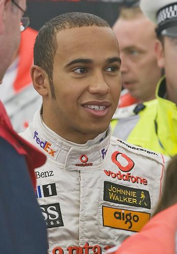 Lewis Hamilton by paulwoolrich.