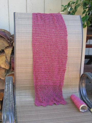 VLT scarf progress 072407