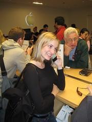 Erica calling Steve Jobs
