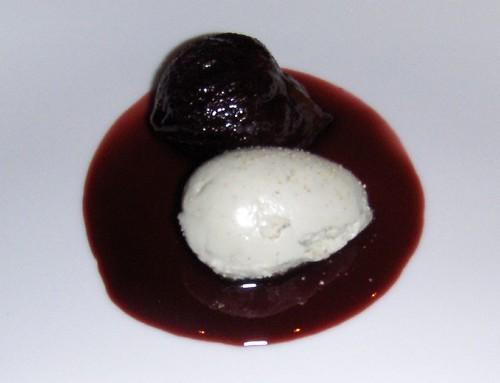 Fourme d'Ambert glacee, Pruneaux d'Agen