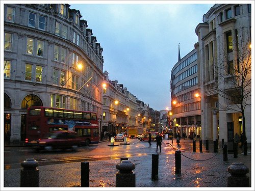 It Was Raining When I Left Oxford Street