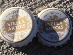 Stella Artois Bottlecaps