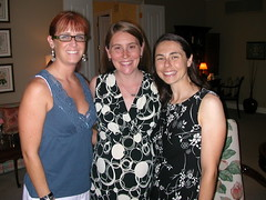 Leslie, me and Heather