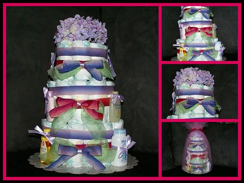 Diaper Cake for Petra