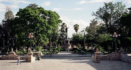 Dolores Hidalgo, plaza principal