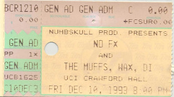 NOFX, Crawford Hall