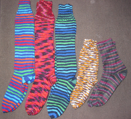 Socks from Ágústa