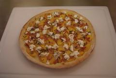 Peach & Prosciutto Pizza