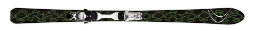 Indigo Bigmountain Black Boa Skis 2008