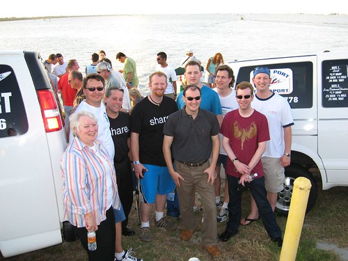 The Motley Crew of SharePoint MVPs in Orlando at Shuttle Launch