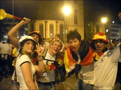Fussball-WM Fans in Frankfurt - 12