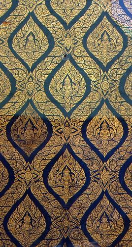 Details d'une porte de temple