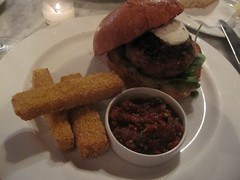 Lamb Burger - Cafe 202