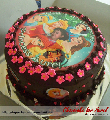 chocolate cake with edible, cake cokelat edible, TCCC, cake princess, pesan cake princess, pesan cake jakarta, pesan cake depok, pesan kue jakarta, pesan kue depok, DKM Cakes, dkmcakes, toko kue online, terima pesanan kue ulang tahun, kue princess