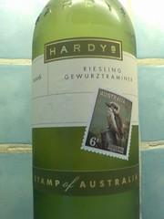 Hardy's Stamp Riesling Gewurztraminer 2006